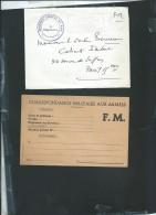 Lot De 13 Lettres  Ou Document En Franchise Durant Le Conflit Franco / Algérien  - Ln303 - War Of Algeria