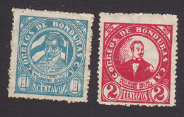 Honduras, Scott #O82-O83, Mint Hinged, JC Del Valle, JR Molina,  Issued 1929