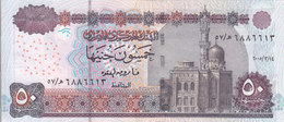 EGYPT 50 EGP 2005 P-66 SIG/ OQDA #21b UNC WM KING TUT */* - Egypt
