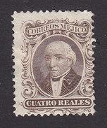 Mexico, Scott #16a, Mint Hinged, Hidalgo, Issued 1864 - Mexico