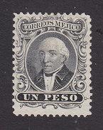 Mexico, Scott #17a, Mint No Gum, Hidalgo, Issued 1864 - Mexico