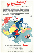 J J M/Buvard  Journal De Mickey (les Modeles Sont Diférents)   (N= 4) - Papel Secante