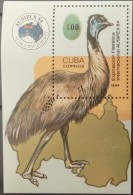 Cuba, 1984, Birds, MNH