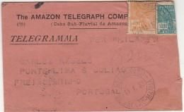 Cover ::: 1933 ::: Belém (Pará) »» Portugal ::: The Amazon Telegraph Company - Cartas