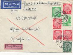 WANGEOOGE - 1938 , Express-Brief Nach Essen - Deutschland