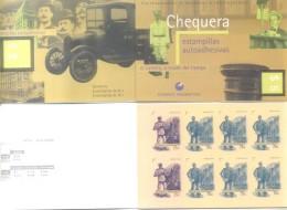 """""""EL CARTERO A TRAVES DEL TIEMPO"""" CHEQUERA DE ESTAMPILLAS AUTOADHESIVAS ARGENTINA AÑO 1998  JALIL NR. 2927C -LILHU - Booklets"""