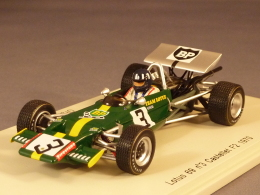 Spark 2146, Lotus 69 #3, Le Castellet F2, Graham Hill, 1970, 1:43 - Spark