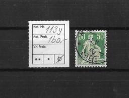 1940 HELVETIA MIT SCHWERT → SBK 113y Kreidepapier Mit Glatter Gummierung - Suisse
