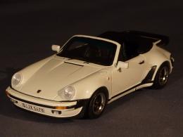 Spark 3498, Porsche 911 Turbo 3.3 Cabriolet, 1989, 1:43 - Spark