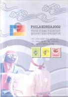 PHILAKOREA 2002 PHILA KOREA AÑO 2002 CORE DEL SUR LIBRO DE LA EXPOSICION WORLD STAMP EXHIBITION - Korea (Zuid)