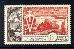 1954  10è Ann. De La Libération  Yv PA 22 - Oblitérés