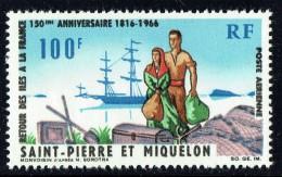 1966   Retour Des Iles à La France  Yv PA 36  ** - Ungebraucht