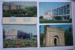 KAZAKHSTAN. JAMBYL CITY . Big  Lot -   1977 Postcard - 7  PCs - Kazachstan