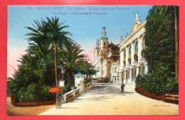 Monaco. Monte-Carlo. Le Théatre , Le Casino Entre Les Palmiers. 1927 - Operahuis & Theater