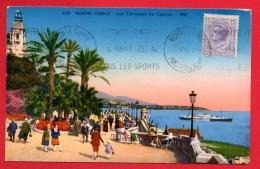 Monaco. Monte-Carlo. Les Terrasses Du Casino. 1931 - Terrassen