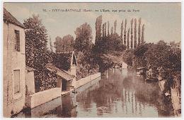 IVRY-LA-BATAILLE ..... L´ EURE ,VUE PRISE DU PONT - Ivry-la-Bataille