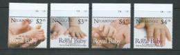 Tonga Niuafo´ou 2013 Royal Baby Set Of 4 MNH - Tonga (1970-...)