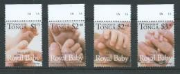 Tonga 2013 Royal Baby Set 4 MNH - Tonga (1970-...)