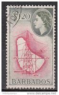 Barbados    Scott No. 246     Used    Year   1953 - Barbados (...-1966)