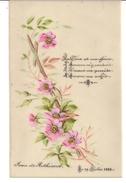Document - Histoire - Généalogie - Jean De Rothiacob -  Faire Part - Naissance -1888 - Nascita & Battesimo