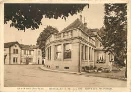 """/ CPSM FRANCE 67 """"Chatenois, Hostellerie De La Gare"""" - Chatenois"""