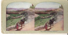 The Valley Of Hinnom, Palestine - Stereoscope Cards