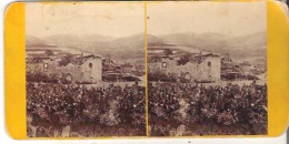No. 39  Samaria. With Ruins Of The Church Of St. John. - Stereoscope Cards