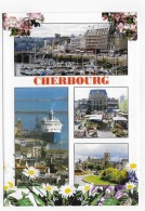CHERBOURG - N° 10281 - MULTIVUES - CPM GF VOYAGEE - Cherbourg