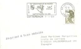 POSTKARTE  FRANCIA 1989 - Ciclismo