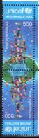 Hungary 2015 / 3. UNICEF Hungarian Committee Stamp In TETE-BECHE Pairs MNH (**) - Ungebraucht
