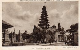 CPA PARIS - EXPOSITION COLONIALE INTERNATIONALE 1931 - PAVILLON DES PAYS BAS - Exhibitions