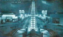 CPA PARIS - EXPOSITION DES ARTS DECORATIFS - VUE DE NUIT - Expositions