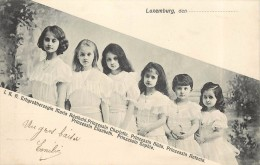 LUXEMBOURG - Famille Royal, Des Petites Princesses. - Famille Grand-Ducale