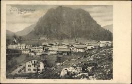 Cp Walchsee In Tirol, Panoramablick über Den Ort, Kirche - Österreich