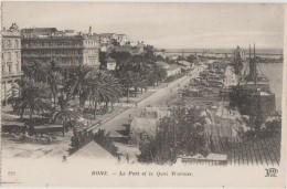 CPA ALGERIE BONE Le Port Et Quai Warnier - Annaba (Bône)