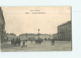 NICE : La Place Masséna . 2 Scans. Edition Riviera Bachelier - Nice