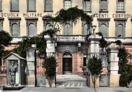 """06426  """"CAIRO MONTENOTTE (SV) SCUOLA MILITARE A.A. C.C."""" ANIMATA - SENTINELLA CART. ILL. ORIG. SPED. 1966 - Italia"""