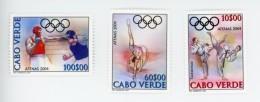 Cap Vert-Cabo Verde-2004-Boxe,Tackwendo-JO Athènes-820/22***MNH