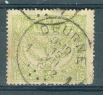 """BELGIE - OBP Nr TR 101 - Cachet """"DEURNE"""" - (ref. AD-7973) - Chemins De Fer"""