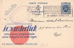 PUB  N°5 - Vanderlick Villas - FR/NL - écrit Et Oblitéré - Entiers Postaux