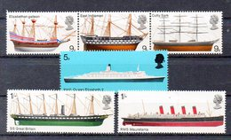 GRANDE BRETAGNE Timbres Neufs ** De 1969  ( Ref 4221 ) Bateau - 1952-.... (Elizabeth II)