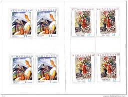 2 Blocs De 4 Timbres Art 2008 Neufs YT 517/518  / 2 Sheets Art 2008 Mint Mi 593/594 - Blocks & Sheetlets
