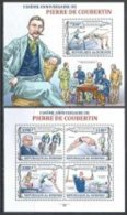 BURUNDI  2013 Olympic Olympic Games P. De Coubertin  Sheetlest+   SS  Perf. - Non Classificati