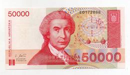 Croazia - 1993 - Banconota Da 50000 Dinari - Nuova - (FDC1719) - Croatia
