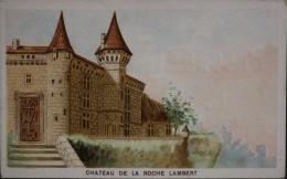 Chromo & Image - Grands Magasins De L'ECONOMIE MENAGERE - Château De La Roche Lambert -  En Très Bon état - Autres