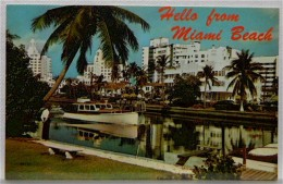 FLORIDA Miami Beach  (wohl 1950er) - Ansichtskarten