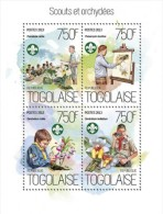 Togo. 2013 Scouts And Orchids. (811a) - Scouting
