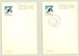Nippon / Japan - 2x Ski In Postmark And/or On Postal Card - Skisport
