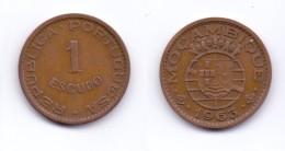 Mozambique 1 Escudo 1963 - Mosambik