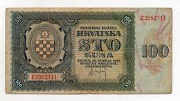 Croazia - 1941 - Banconota Da 100 Kuna - Usata - (FDC1722) - Croatia
